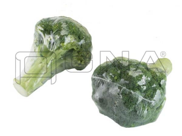 Broccoli confezionati in termoretroazione