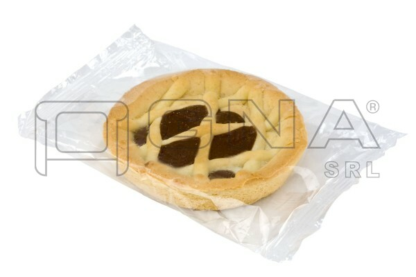 Crostatina confezionata in flowpack