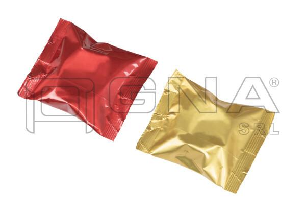 Capsule di caffè confezioni flowpack