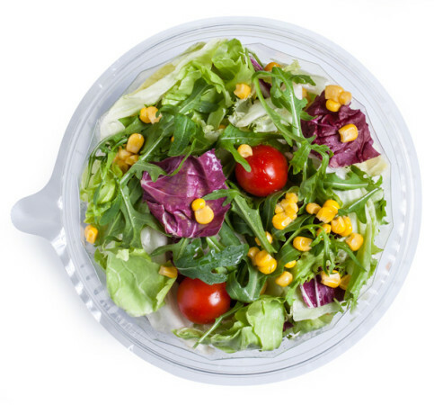 Ciotola termosaldata di insalata