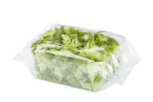 vaschetta insalata confezionata in flow pack
