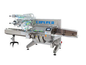 Machines d'emballage Flow pack CAPEREA