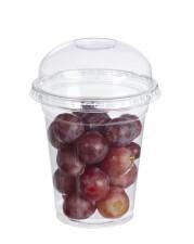 Confezionamento uva in bicchiere