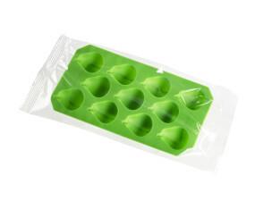 contenitore per ghiaccio confezionato in flow pack