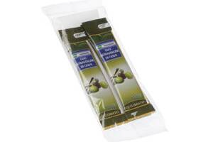 Bustine di olio confezionate in flow pack