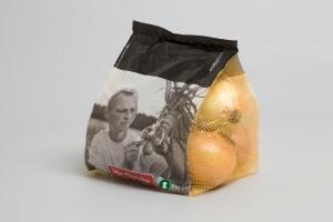 Cipolle confezionate in sacchetti