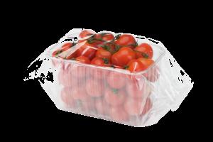 Pomodorini confezionati in flow pack